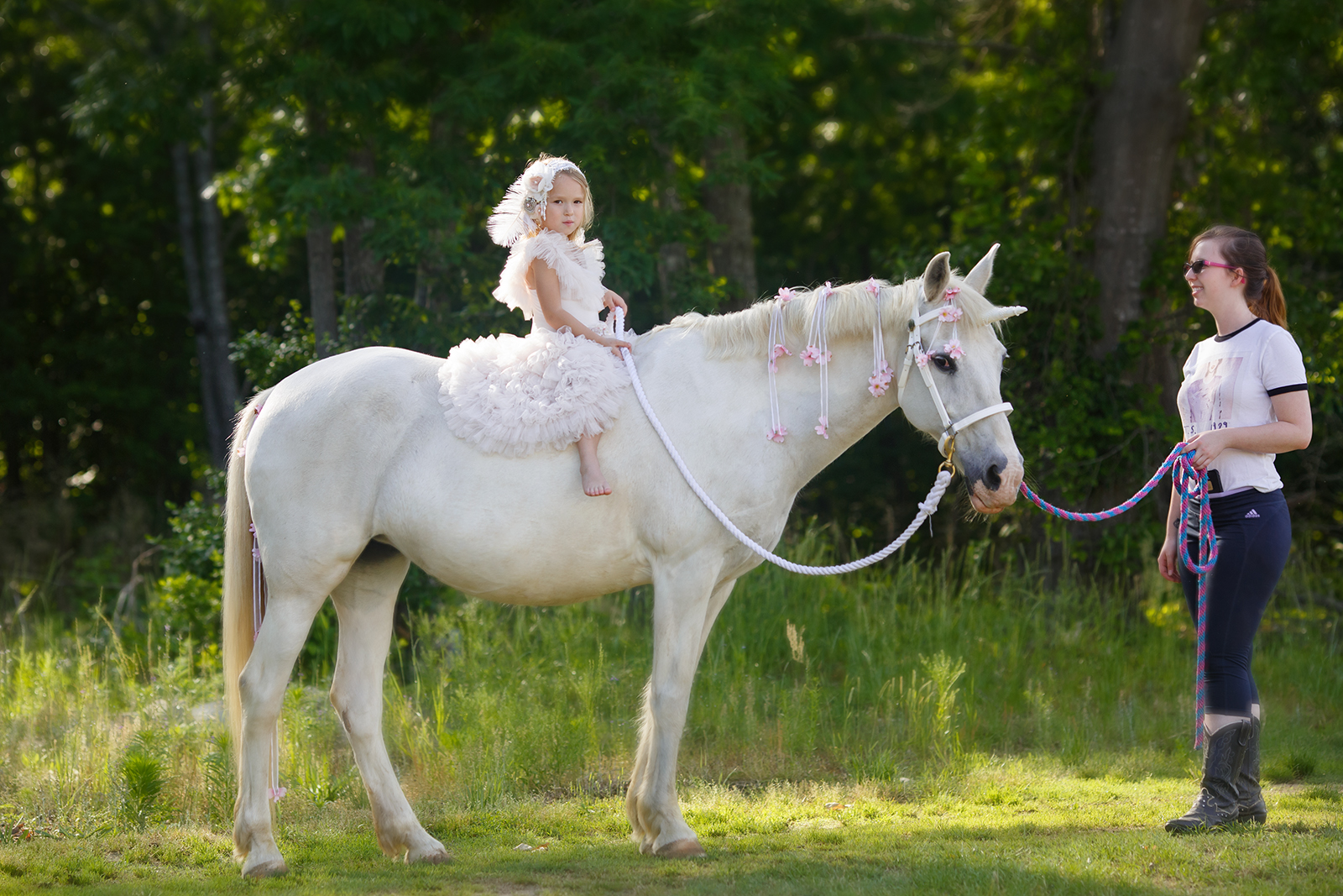 Unicorn photography in Raleigh NC